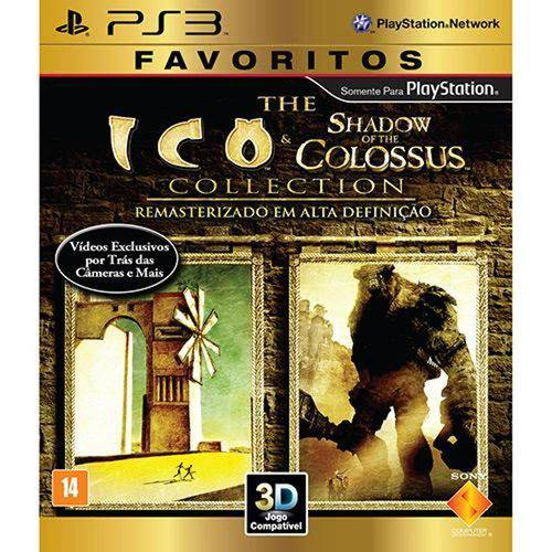 The Ico Shadow Of The Colossus Collection - Ps3