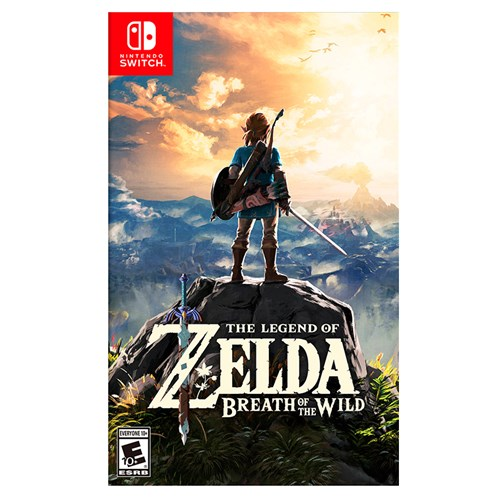 Tudo sobre 'The Legend Of Zelda: Breath Of The Wild - Switch'