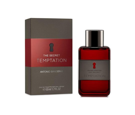 The Secret Temptation Antonio Banderas Perfume Masculino - Eau de Toilette 50 Ml