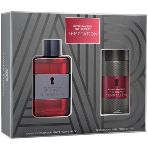 The Secret Temptation Eau de Toilette 100ml + Desodorante 150ml