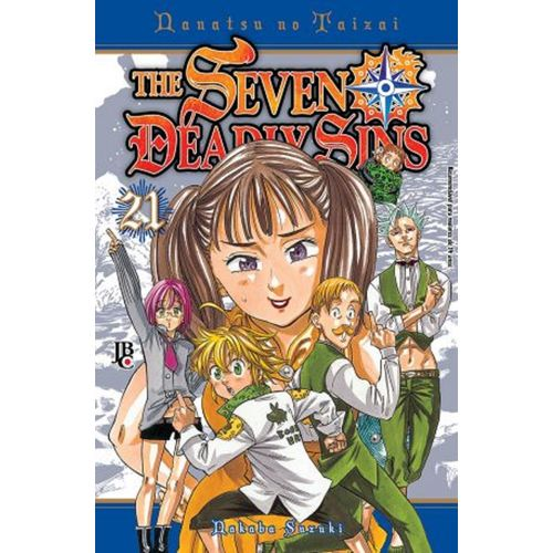 The Seven Deadly Sins 21 - Jbc