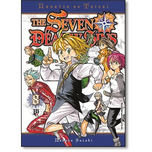 The Seven Deadly Sins 8 - Jbc