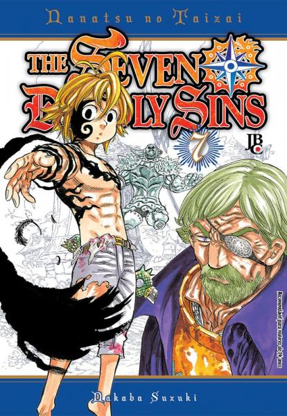 Livro - The Seven Deadly Sins - Vol. 7