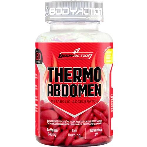 THERMO ABDOMEN - 120 TABLETES - BODY ACTION