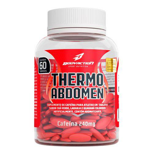Tudo sobre 'Thermo Abdomen 60 Tabs - Body Action'