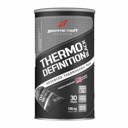 Tudo sobre 'Thermo Definition Black 30 Packs Body Action'