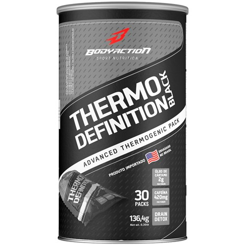 Thermo Definition Black (30 Packs) - Body Action