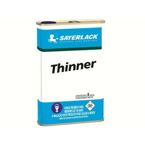 Tudo sobre 'Thinner 5lts 4288 Sayerlack'