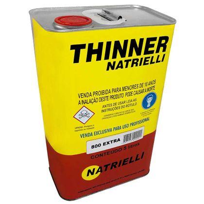 Thinner 8100 com 5 Litros - Natrielli