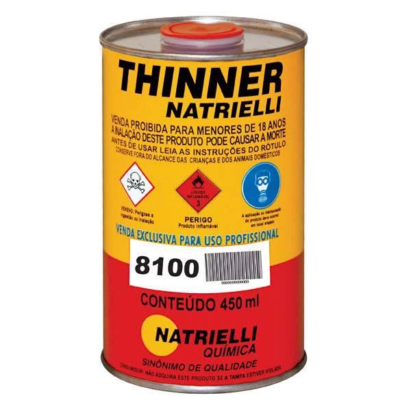 Thinner 8100 Natrielli 0,45L