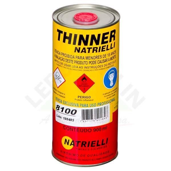 Thinner 8100 Natrielli 0,9L