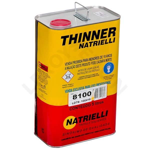Thinner 8100 Natrielli 5L