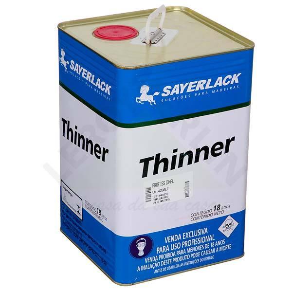 Thinner Sayerlack 18L