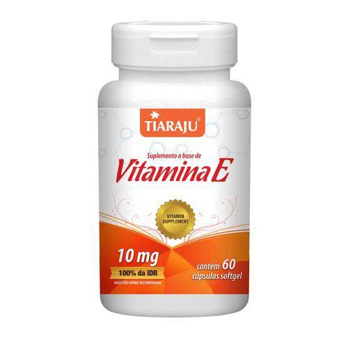 Tiaraju Vitamina e 60 Caps