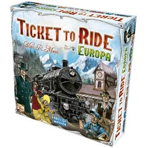Ticket To Ride: Europa em Português - Galápagos