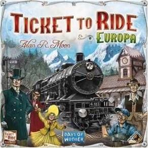 Ticket To Ride - Europa - Galápagos - em Português