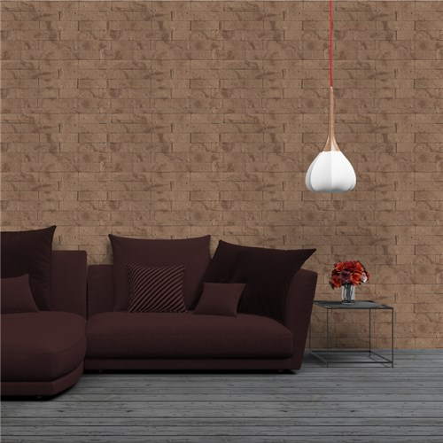 Tijolo Marrom - Papel de Parede - LE554835-1