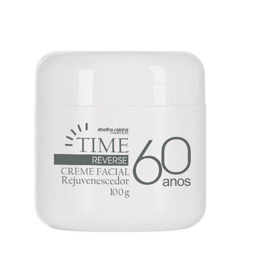Time Reverse – Creme Facial Rejuvenescedor 60 Anos 100 G