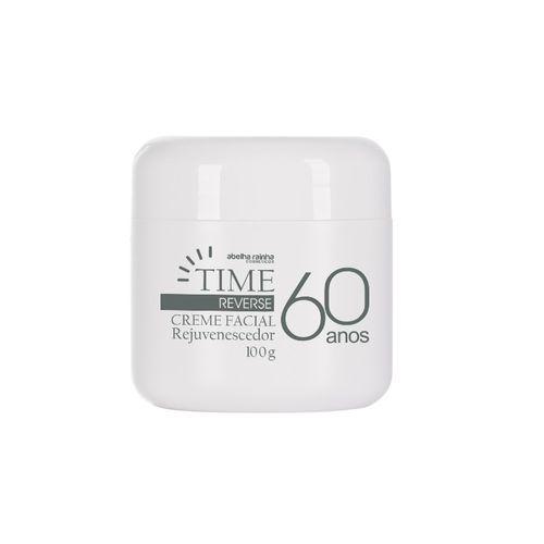Time Reverse Creme Facial Rejuvenescedor 60 Anos Abelha Rainha 100g