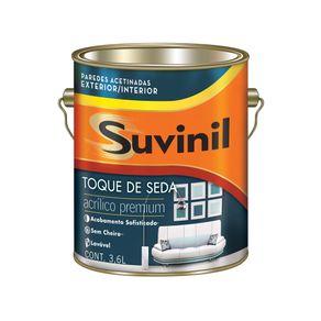 Tinta Acrílica 3,6lts Toque de Seda Bco Neve Suvinil