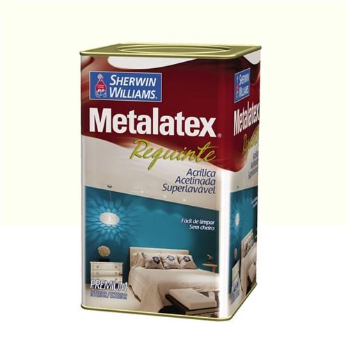 Tinta Acrílica Acetinado Metalatex Requinte Superlavável Premium Branco 18L Sherwin Williams