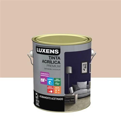 Tudo sobre 'Tinta Acrílica Acetinado Premium Nude Classe 3,6L Luxens'