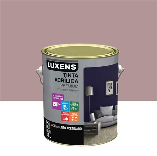Tudo sobre 'Tinta Acrílica Acetinado Premium Rosa Antigo Retrô 3,6L Luxens'