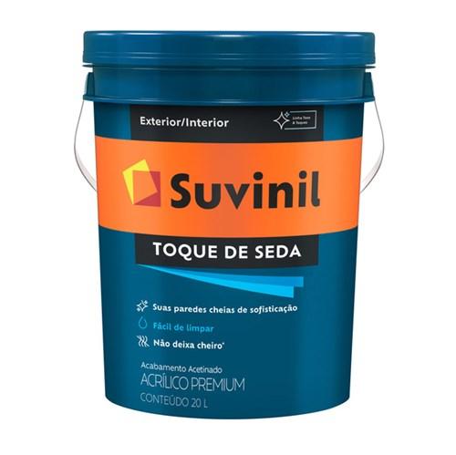 Tinta Acrílica Acetinado Toque de Seda Premium Branco 20L Suvinil