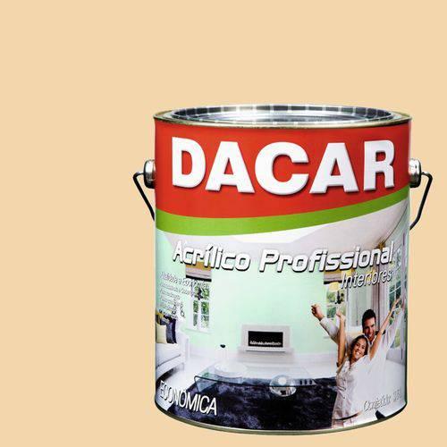 Tinta Acrílica Dacar Fosco Profissional 3,6 L Areia