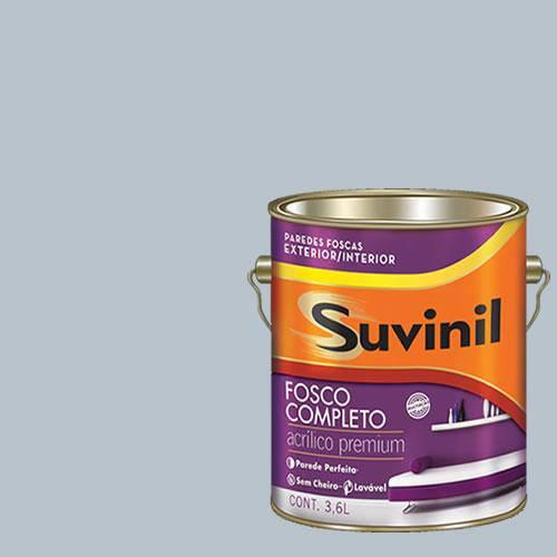Tinta Acrilica Fosca Premium Suvinil Luz da Lua 3,6L.