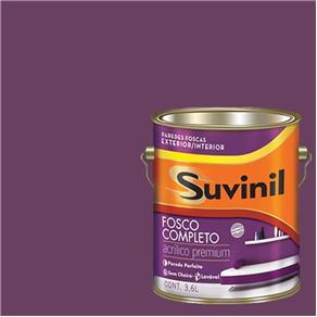 Tinta Acrilica Fosca Premium Suvinil Púrpura 3,6L.