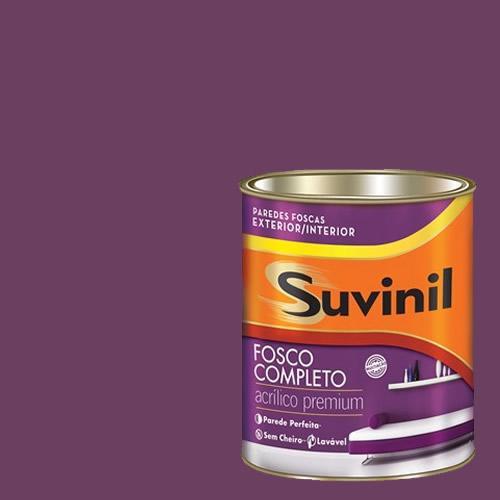 Tinta Acrilica Fosca Premium Suvinil Púrpura 900ml