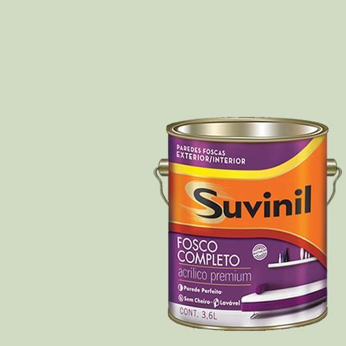 Tinta Acrilica Fosca Premium Suvinil Regata 3,6l.