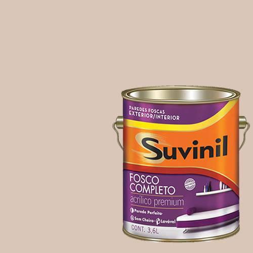 Tinta Acrilica Fosca Premium Suvinil Rocambole 3,6L.