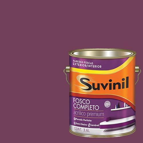 Tinta Acrilica Fosca Premium Suvinil Romance 3,6l.