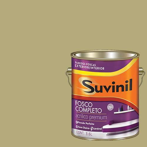 Tinta Acrilica Fosca Premium Suvinil Salgueiro 3,6L.