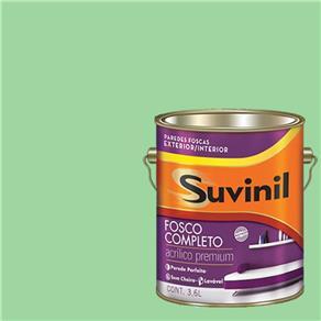 Tinta Acrilica Fosca Premium Suvinil Salvínia 3,6L.