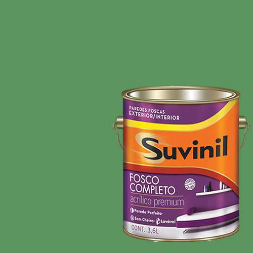 Tinta Acrilica Fosca Premium Suvinil Samambaia 3,6L.