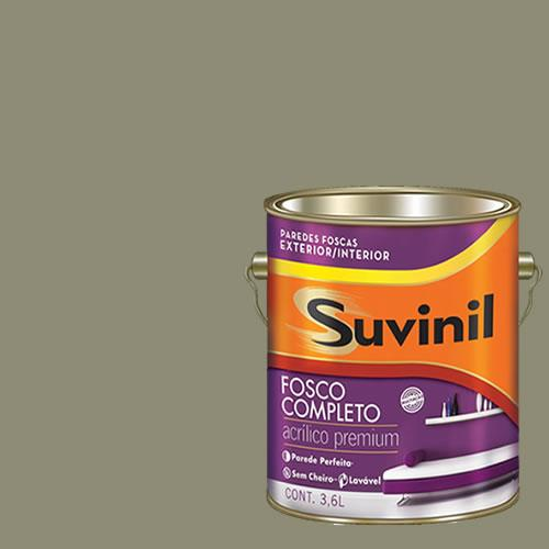 Tinta Acrilica Fosca Premium Suvinil Selva 3,6l.