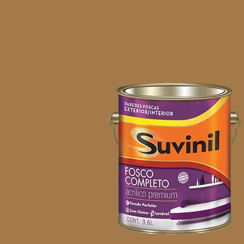 Tinta Acrilica Fosca Premium Suvinil Sépia 3,6L.