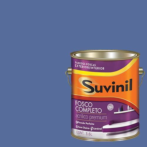 Tinta Acrilica Fosca Premium Suvinil Sodalita 3,6l.
