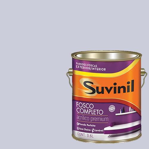Tinta Acrilica Fosca Premium Suvinil Sombra 3,6l.