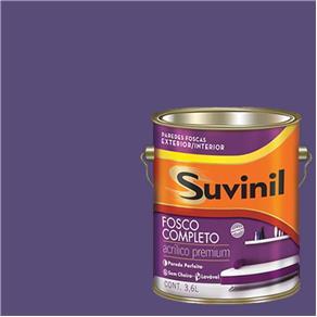 Tinta Acrilica Fosca Premium Suvinil Sugilite 3,6L.