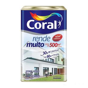 Tinta Acrílica Fosca Rende Muito Camurça 18L Coral Coral