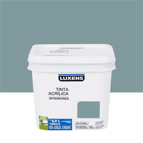 Tudo sobre 'Tinta Acrílica Fosca Standard Azul Aconchego 2,5L Luxens'