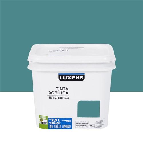 Tudo sobre 'Tinta Acrílica Fosca Standard Azul Seco 2,5L Luxens'