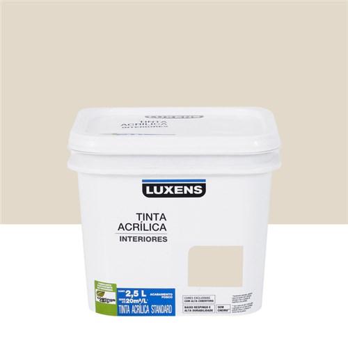 Tudo sobre 'Tinta Acrílica Fosca Standard Branco Antigo 2,5L Luxens'
