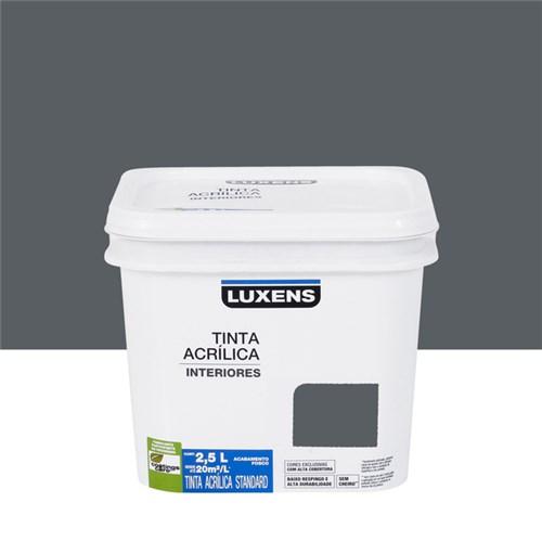 Tudo sobre 'Tinta Acrílica Fosca Standard Grafite 2,5L Luxens'