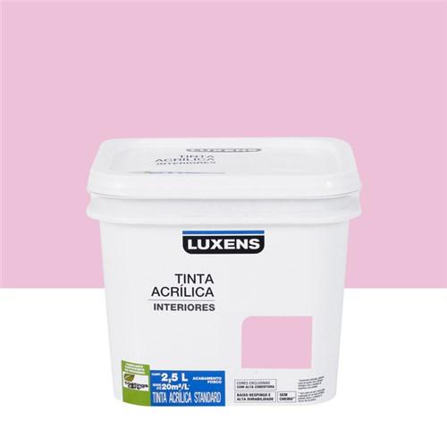 Tudo sobre 'Tinta Acrílica Fosca Standard Rosa Pink 2,5L Luxens'