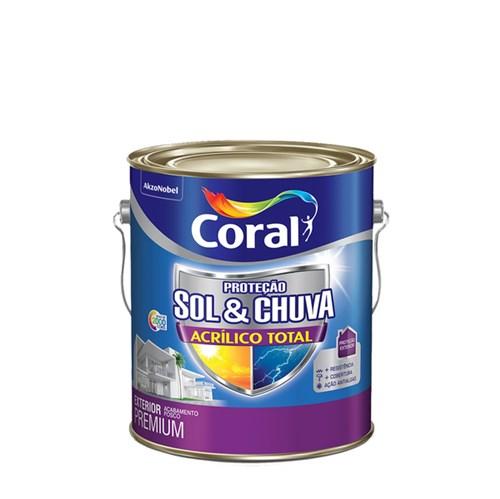 Tinta Acrílica Fosca Total S&C Premium Branco 3,6L Coral